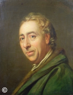 'Capability Brown, painted by Richard Cosway, probably between 1770 and 1775. Made available to the Festival thanks to the generosity of the owner and Bridgeman Images, which manages the rights to the portrait.